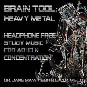 heavy metal isochronic adhd study music