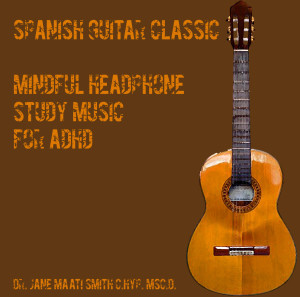 spanish guitar binaural beat adhd study music