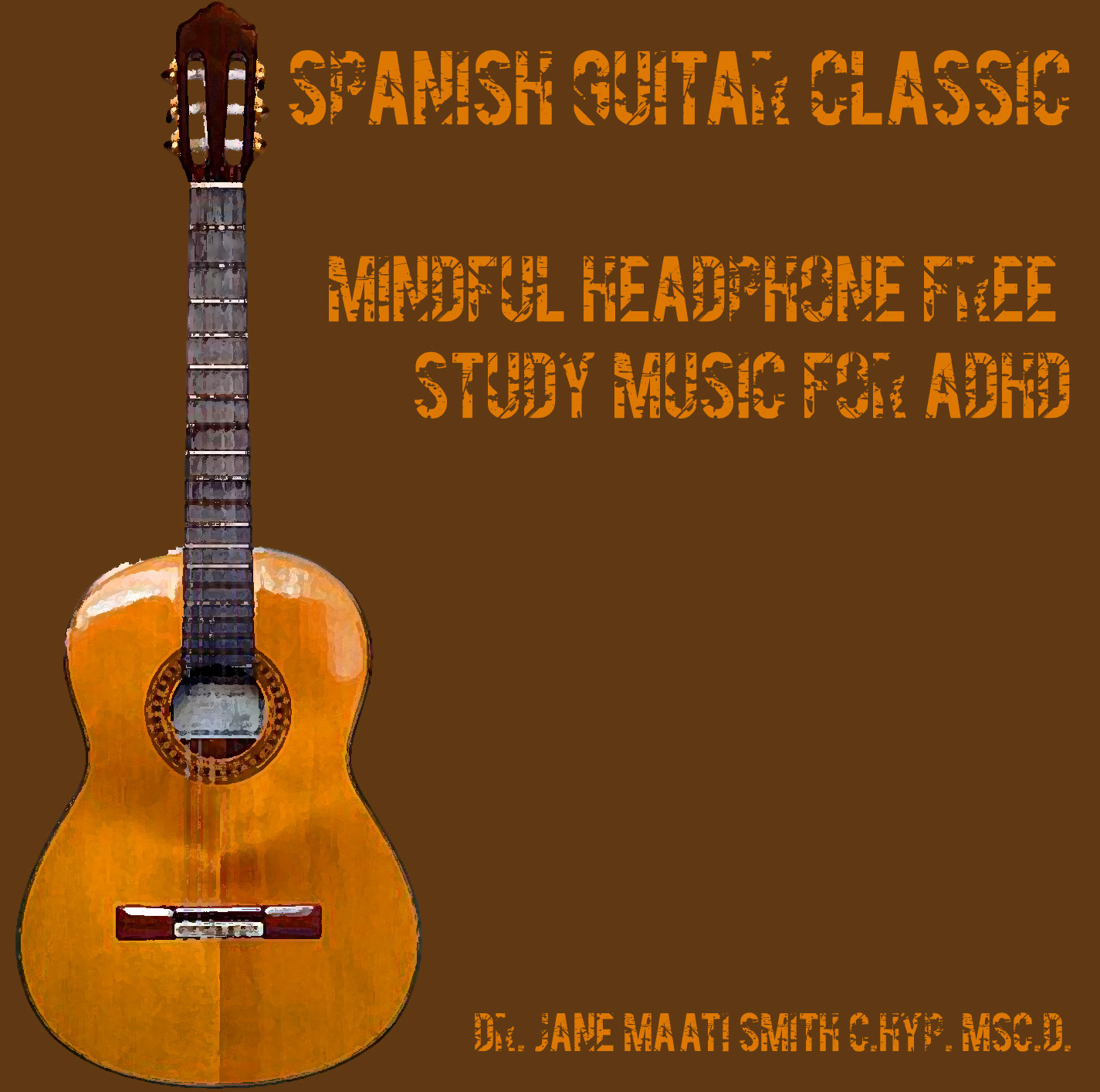 spanish guitar isochronic adhd study music